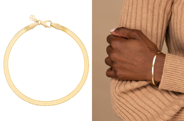 Dainty Gold Bracelets: Layer 'Em On