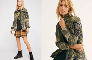 Cadet Cute: Integrate Some Camouflage