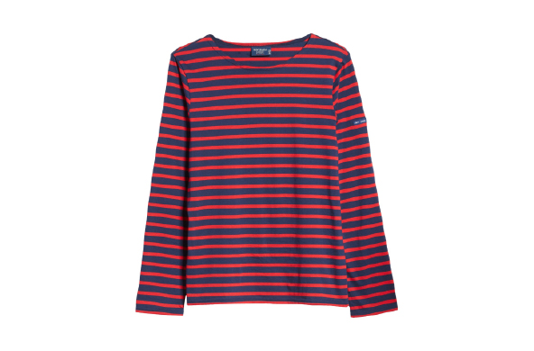 Minquiers Moderne Striped Sailor Shirt by Saint James