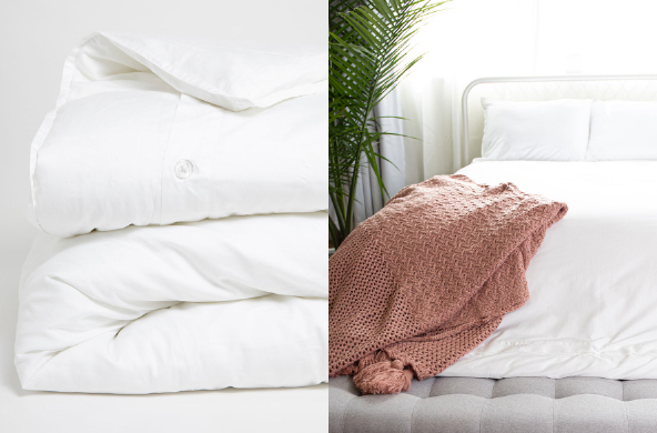 Room Service Duvet Cover, $100+ by WearPact