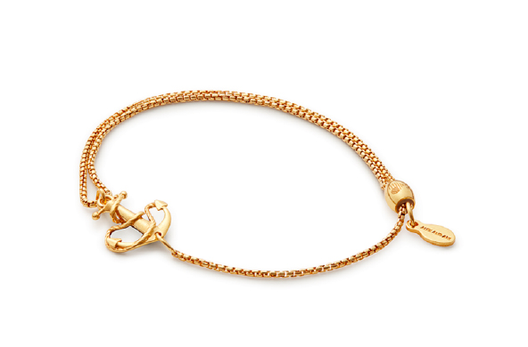 Anchor Pull Chain Bracelet, $68 by Alex and Ani