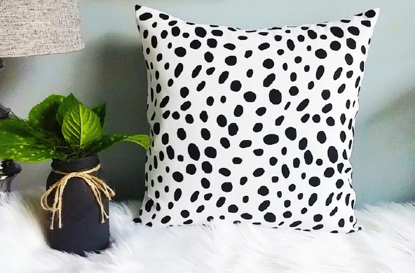 Dalmatian Pillow Cover, $14+ by HomeStylin on Etsy