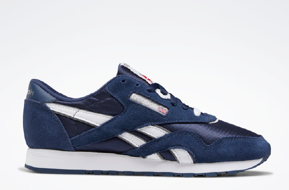 Classic Nylon Sneakers, $65 by Reebok