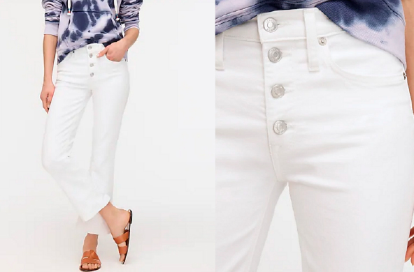 Demi-Boot Crop Jean, $128 at J.Crew